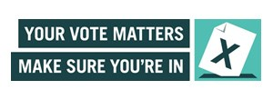 Make sure you're registered to vote on May 7