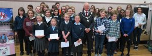 Fordingbridge Twinning Youth Competition awards at AGM