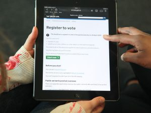 Less than two weeks left to register to vote in the general election