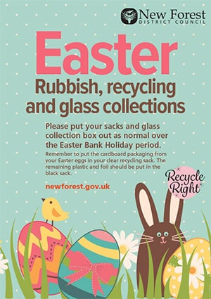 Easter recycling