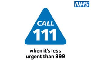 NHS 111 service