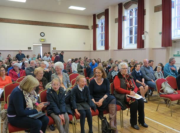 Capacity crowd at the Town Hall for Youth Awards