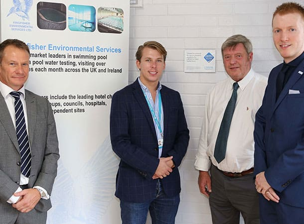 New Forest District Council's swimming pools gain CIMSPA Pool Water Quality Award