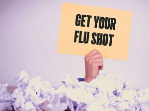 Spread the word not flu – get vaccinated to protect yourself and others