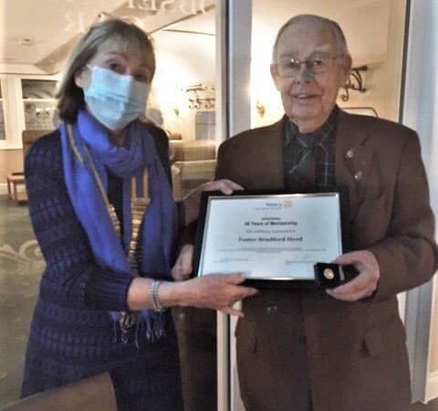 Fordingbridge Rotary celebrating 50 years of membership